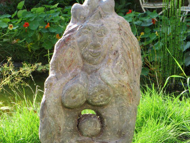 4. Gaia (2015), 73x45x13, Serpentin