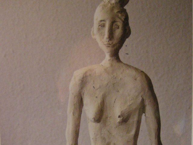 9. Anke (2010), Höhe 50 cm, Ton