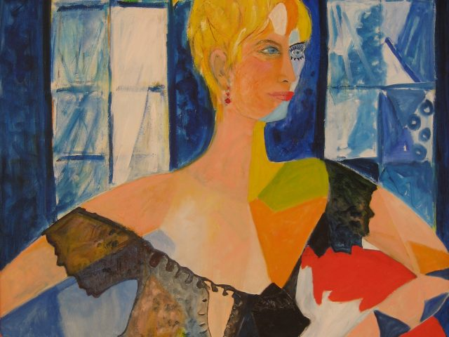 15. Anke (2009), 80×70, Öl