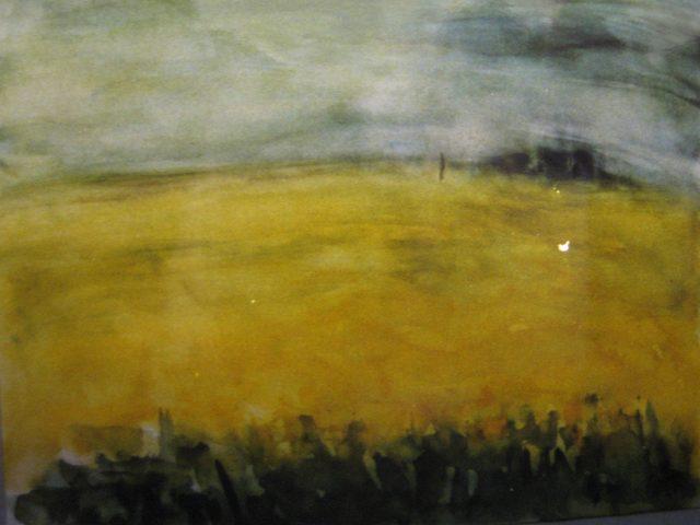 21. Rapsfeld (1999), 50×70, Aquarell