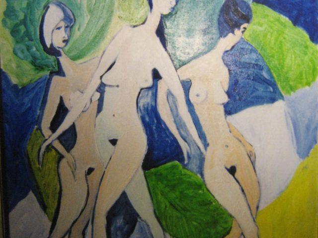 28. Drei Grazien (1999), 50×70, Öl