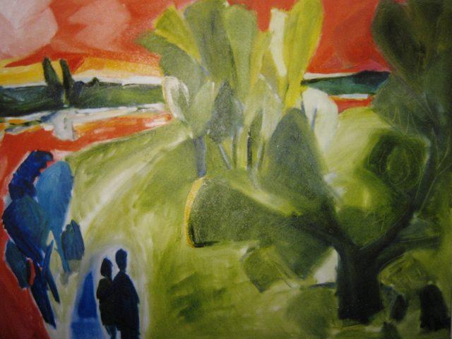 30. Heisinger Aue (1999), 80×100, Öl