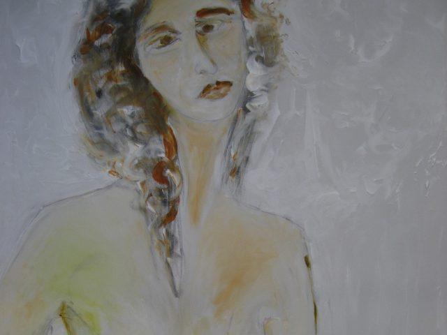 71. Großer Frauenakt (Teiltafel) (2015)